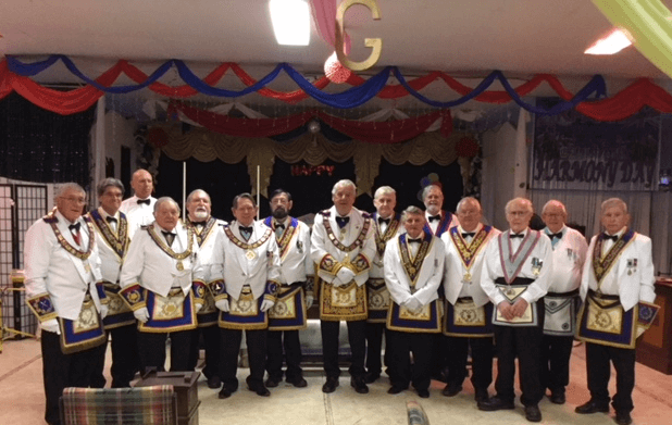 King of Tyre Mark Lodge No. 57 Installation