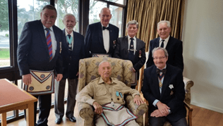A Proud Brother: WBro. Jaan Neps and those who shared in his delight
